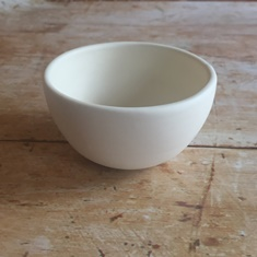 Heartware - Stoneware Bowl-Heartware, CG Ceramics - Heartware Bowl, stoneware, cross stitch