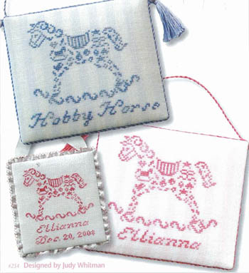 JBW Designs - French Country - Hobby Horse - Cross Stitch Pattern
