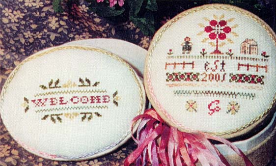 The Sewing Circle - Housewarming - Cross Stitch Charts
