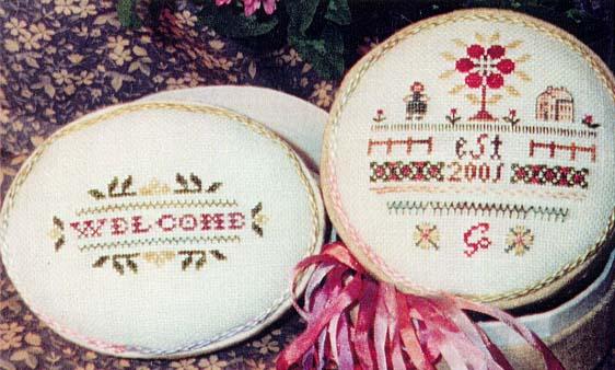 The Sewing Circle - Housewarming - Cross Stitch Charts-The Sewing Circle - Housewarming - Cross Stitch Charts