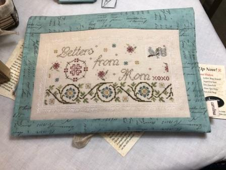 Jeannette Douglas Designs - Letters from Mom 01 - Info & Sampler/Letter Bag Cover