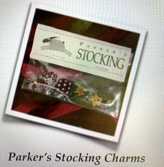 Shepherd's Bush - Stockings - Parker's Stocking Charm Pack-Shepherds Bush - Stockings - Parkers Stocking Charm Pack, Christmas, gifts, embellishments, cross stitch
