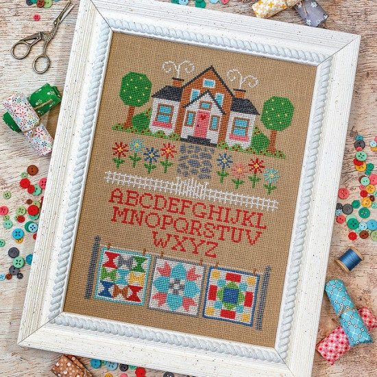 It's Sew Emma Stitchery - Quilter's Cottage-Its Sew Emma Stitchery - Quilters Cottage, house, sewing, home, cross stitch