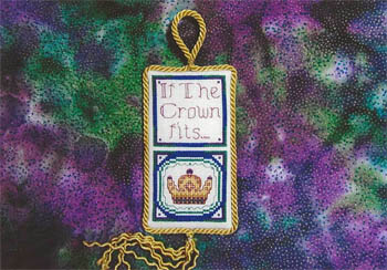 Designs by Lisa - If The Crown Fits... - Cross Stitch Chart