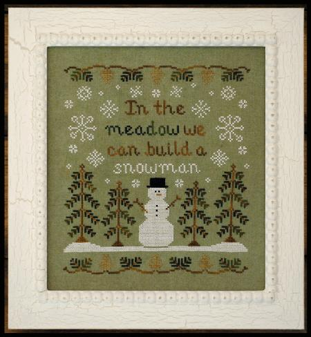 Country Cottage Needleworks - In the Meadow - Cross Stitch Pattern