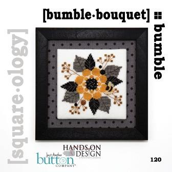 Hands On Design & Just Another Button Company - Square.ology - Bumble.Bouquet
