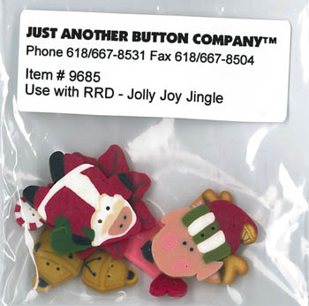 Just Another Button Company - Jolly Joy Jingle Buttons
