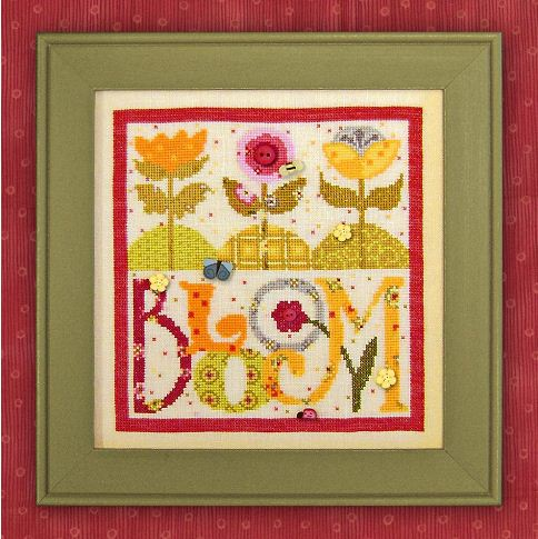Just Another Button Company - Art To Heart - Bloom - Cross Stitch Chart