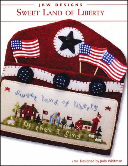 JBW Designs - Sweet Land Of Liberty-JBW Designs - Sweet Land Of Liberty, USA, Americana, liberty, cross stitch