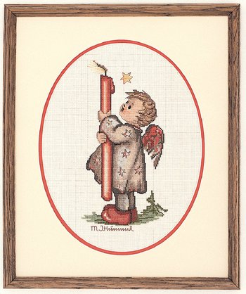 M.I. Hummel - Candle Light - Cross Stitch Kit-M.I. Hummel, Candle Light,  Counted Cross Stitch Kit,