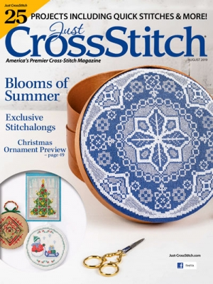 Just Cross Stitch - 2019 #4 July/August-Just Cross Stitch - 2019 4 JulyAugust , MAGAZINE, projects, spring, summer, cross stitch