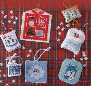 Just Cross Stitch Christmas Ornaments 2020 Just Cross Stitch   2020 Special Holiday Issue   Beach Cottage