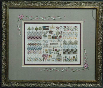 Jeannette Douglas Designs - My Story - Cross Stitch Pattern-Jeannette Douglas Designs - My Story - Cross Stitch Pattern