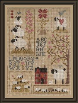 Jardin Prive - Sheep Stories (Histories de Moutons 3)-Jardin Prive - Sheep Stories Histories de Moutons 3, sheep, farm, shepherd, lamb,