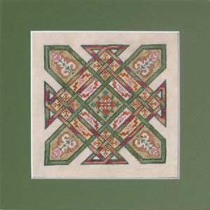 Ink Circles - Celtic Quilts Kentucky Chain - Cross Stitch Pattern-Ink Circles - Celtic Quilts: Kentucky Chain - Cross Stitch Pattern