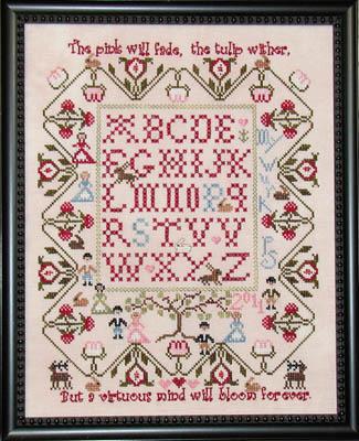 Praiseworthy Stitches - Le Jardin de Lapin-Praiseworthy Stitches - Le Jardin de Lapin
