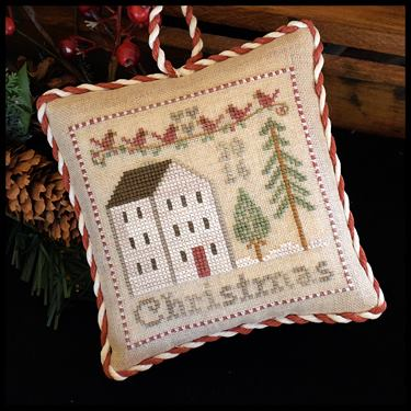 Little House Needleworks - 2016 Christmas Ornament-Little House Needleworks - 2016 Christmas Ornament, Christmas tree, ornaments,