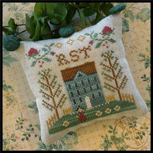 Little House Needleworks - ABC Samplers - RST-Little House Needleworks - ABC Samplers - RST, samplers, cross stitch, houses, alphabets,