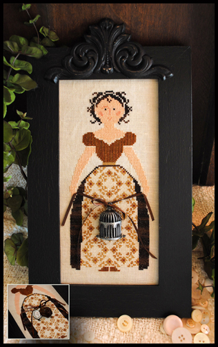Little House Needleworks - My Lady -Cross Stitch Pattern