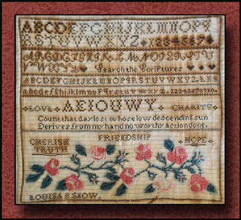 Little House Needleworks - Louisa B. Snow Sampler (The)