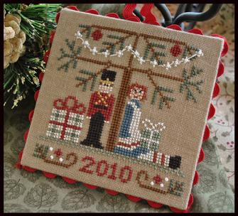Little House Needleworks - Ornament of the Month 2010 - Under the Tree