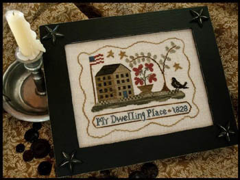 Little House Needleworks - My Dwelling Place - Cross Stitch Pattern-Little House Needleworks - My Dwelling Place - Cross Stitch Pattern
