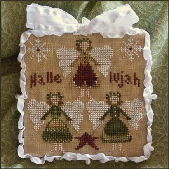 Little House Needleworks - Ornament of the Month 2011 - Hallelujah!
