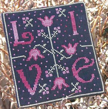 New York Dreamer - Live - Cross Stitch Pattern-New York Dreamer - Live - Cross Stitch Pattern