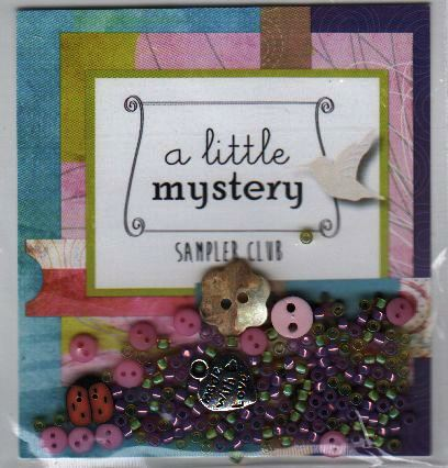 Lizzie Kate - A Little Mystery Sampler Embellishment Pack-Lizzie Kate - A Little Mystery Sampler Embellishment Pack, cross stitch