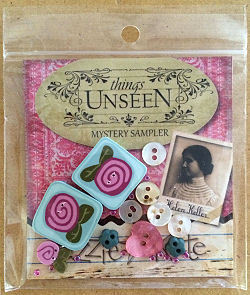 Lizzie Kate - Things Unseen Mystery Embellishment Pack-Lizzie Kate - Things Unseen Mystery Embellishment Pack