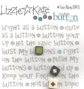 Just Another Button Company - Lizzie Kate - Hats Off To Halloween 2 Button Pack-Just Another Button Company,  Lizzie Kate, Hats Off To Halloween 2 Button Pack, Halloween, buttons, embellishments,