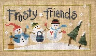 Lizzie Kate - 6 Snow Belles Flip-it - Frosty Friends