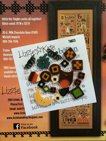 Just Another Button Company - Tingles Button Pack-Just Another Button Company, Tingles, Lizzie Kate, Button Pack, Halloween, Fall.