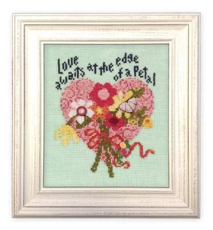Just Another Button Company - Art To Heart - Love Awaits - Cross Stitch Chart