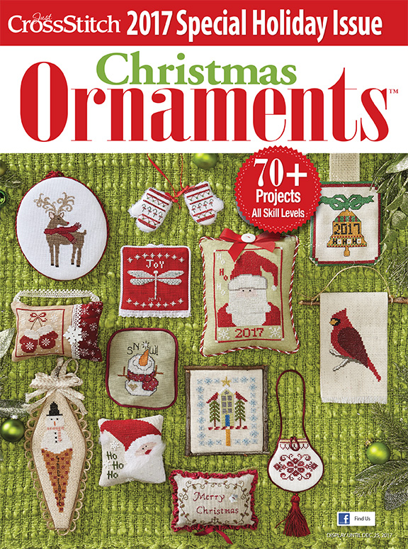 Just Cross Stitch - 2017 Christmas Ornament Special Issue-Just Cross Stitch - 2017 Christmas Ornament Special Issue, ornaments, annual magazine, ornaments