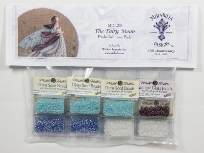 Mill Hill - Mirabilia Embellishment Pack - Fairy Moon-Mill Hill - Mirabilia Embellishment Pack - Fairy Moon