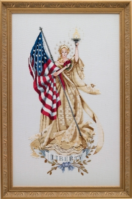 Mirabilia Designs - Lady of the Flag Limited Edition- SOLD OUT-Mirabilia Designs - Lady of the Flag Limited Edition, USA, America, patriotic,