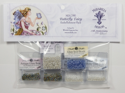 Mill Hill - Mirabilia Embellishment  for Butterfly Fairy - Limited Edition-Mill Hill - Mirabilia Embellishment  for Butterfly Fairy - Limited Edition