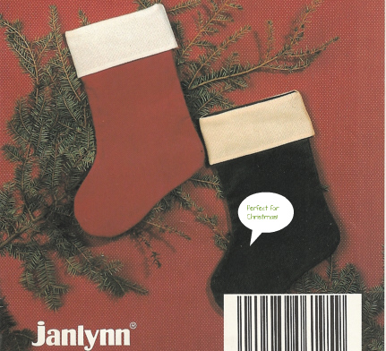 "Janlynn - Mini Stocking 8"" x 12""-Janlynn - Mini Stocking 8 x 12 cross stitch"