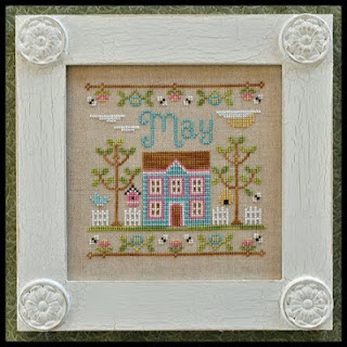 Country Cottage Needleworks - Cottage of the Month 05 - May Cottage-Country Cottage Needleworks - Cottage of the Month 05 - May Cottage,