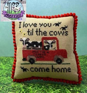 Needle Bling Designs - Moo the Merrier Farms-Needle Bling Designs - Moo the Merrier Farms, cows, 2021 Needlework Expo, cross stitch