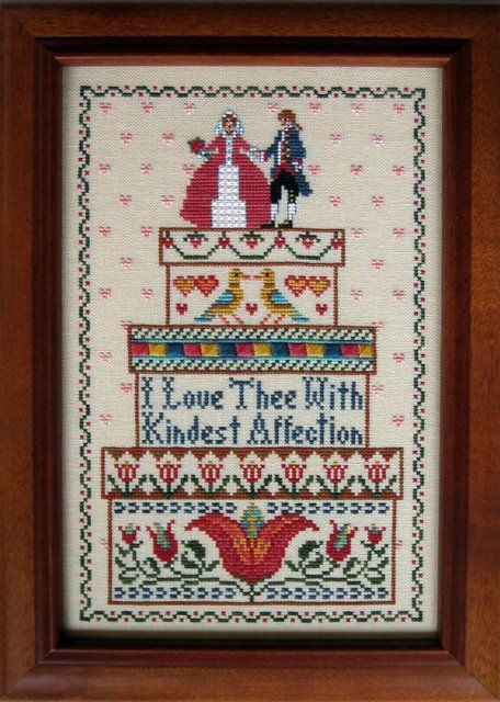 The Needle's Notion - Brides Boxes - Cross Stitch Pattern-The Needles Notion - Brides Boxes - Cross Stitch Pattern