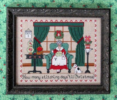 The Needle's Notion - The Christmas Stitcher - Cross Stitch Pattern