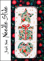 Just Nan - Needle Slide - Birds, Berries & Blooms-Just Nan - Needle Slide - Birds, Berries  Blooms, sewing, magnets, storage, needles, cross stitch