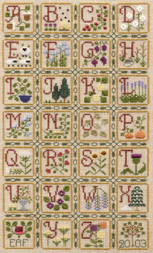 Elizabeth's Designs - Nature's Alphabet