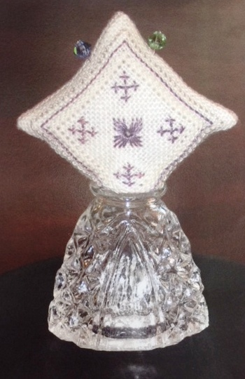 Olde Colonial Designs - Perfume Make Do Pin Cushion