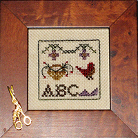 Olde Colonial Designs - Extra Tiny Basket Sampler Kit
