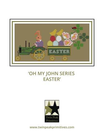 Twin Peak Primitives - Oh My John Series - Easter