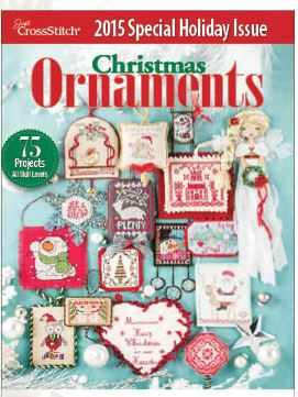 Just Cross Stitch - 2015 Christmas Ornament Special Issue-Just Cross Stitch - 2015 Christmas Ornament Special Issue, holiday issue, 19th issue,