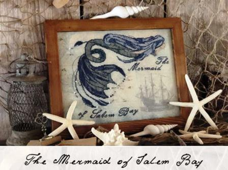 The Primitive Hare - The Mermaid of Salem Bay-The Primitive Hare - The Mermaid of Salem Bay, pirates, ocean, treasures, cross stitch